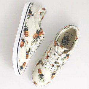 VANS pineapple print shoes